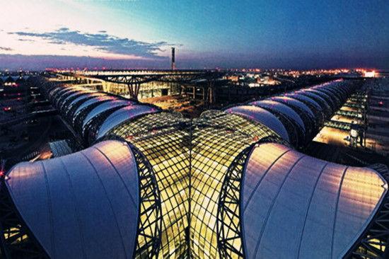 华丽的曼谷机场