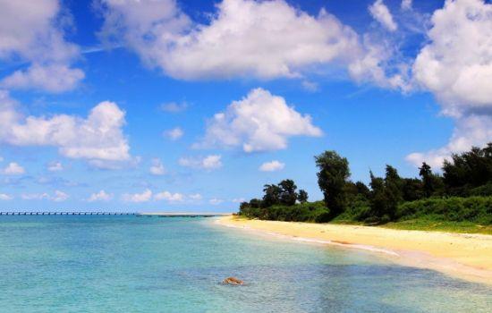 亚洲 中国 广西 北海市 正文    涠洲岛是国家地质公园,火山遗迹在岛