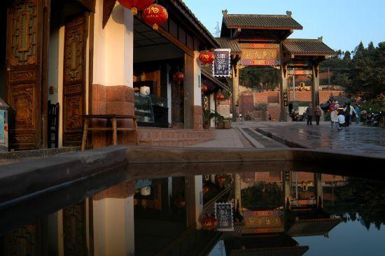 洛带古镇位于成都龙泉驿图片