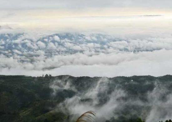 美丽的云海