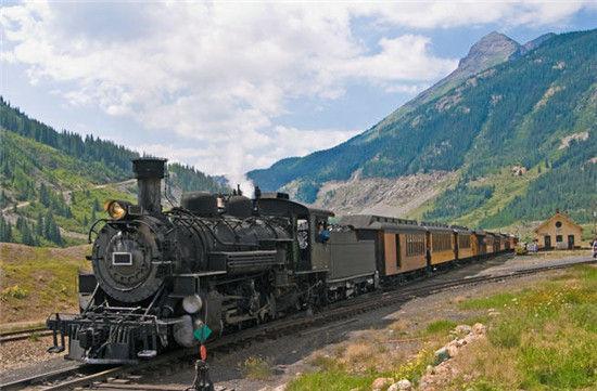 美国·科罗拉多 蒸汽火车