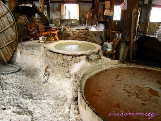 盐渍猪肠衣生产_盐的生产