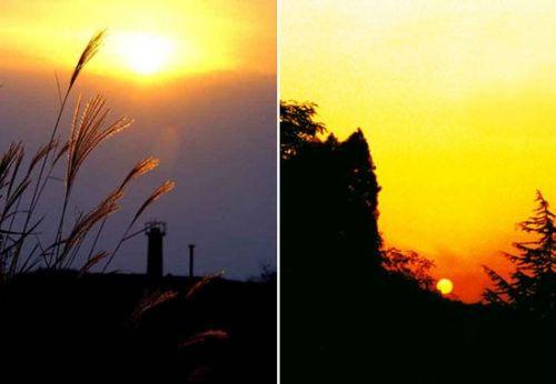 落日余晖观古城西安不容错过的夕照胜景:骊山等
