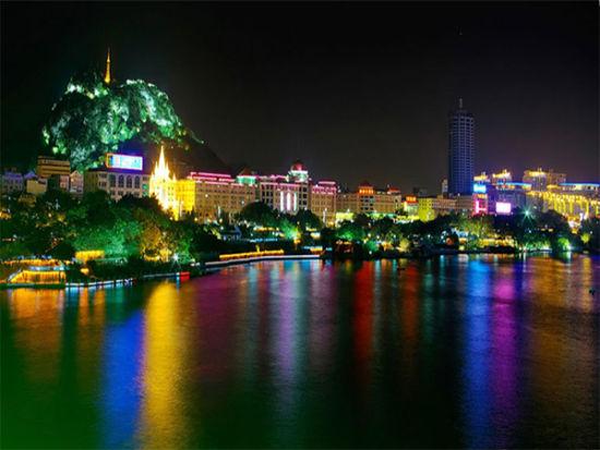 柳州夜游百里柳江游船 柳州柳航国旅