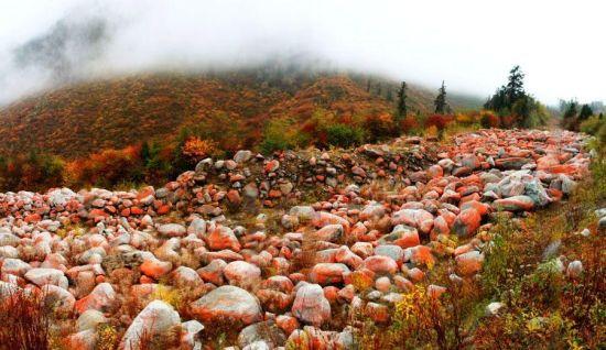 红石头风景区