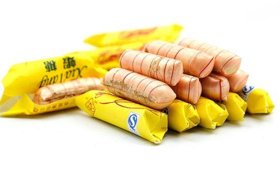 秋林大虾糖图片