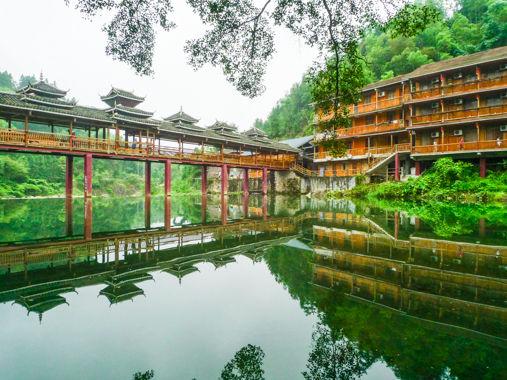 魅力广西行游山水柳州