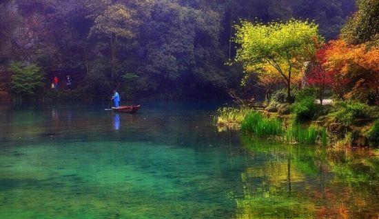 杭城赏秋地推荐:九溪烟树,难得的意境幽深,真正的人少景美,秋天