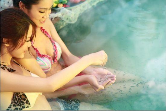 新浪旅游配图:山湖温泉 图片来自网络