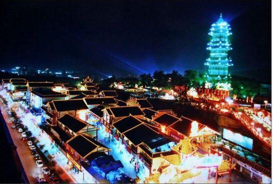 自贡尖山风景区改造