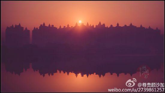 太原城郊的日出 摄@尊贵顾沙加