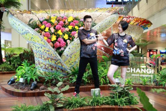 戚薇李承铉在樟宜机场遇见爱的微旅行