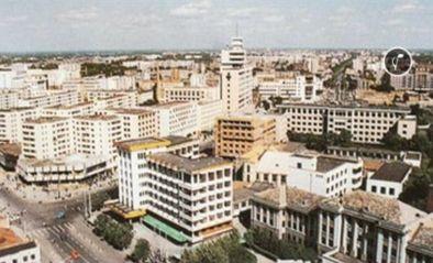 二十年前的中环广场-二十年前齐齐哈尔联通大道景观