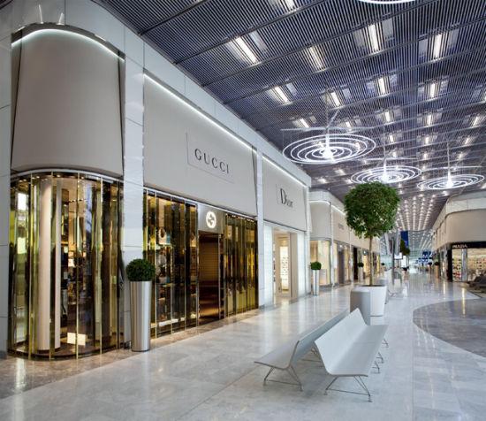 法国巴黎戴高乐机场购物区