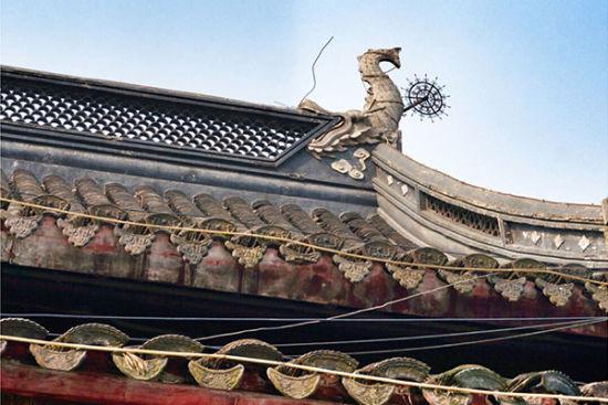 栖霞寺的飞檐