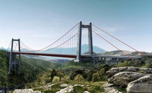 带你了解贵州坝陵河大桥(组图)