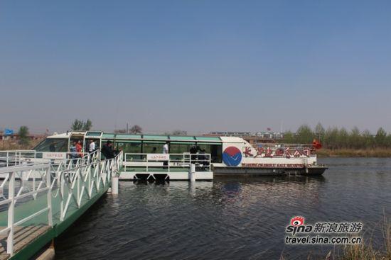 海河游船杨柳青码头