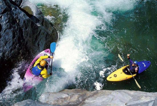 永定河大峡谷漂流 图片来自新浪博主:anny