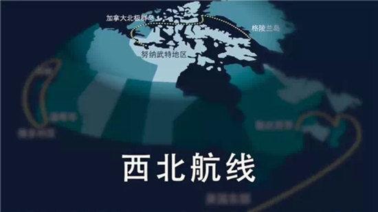 西北航线图