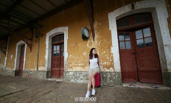 位于云南省红河哈尼族彝族自治州蒙自县的草坝镇上,滇越铁路之碧色寨