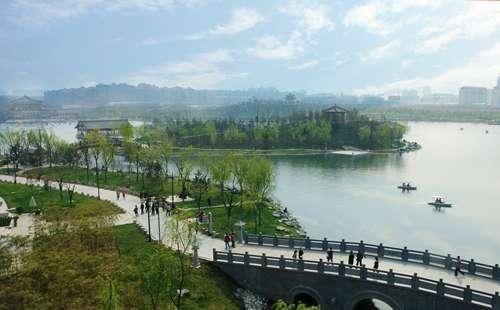 西安的后花园 曲江池遗址公园