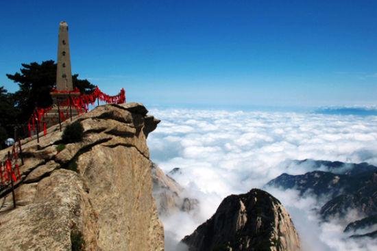 冬游西岳华山 着名景点盘点