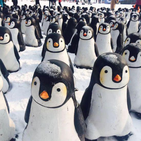 水滴举办冰雪嘉年华 企鹅助阵活动丰富