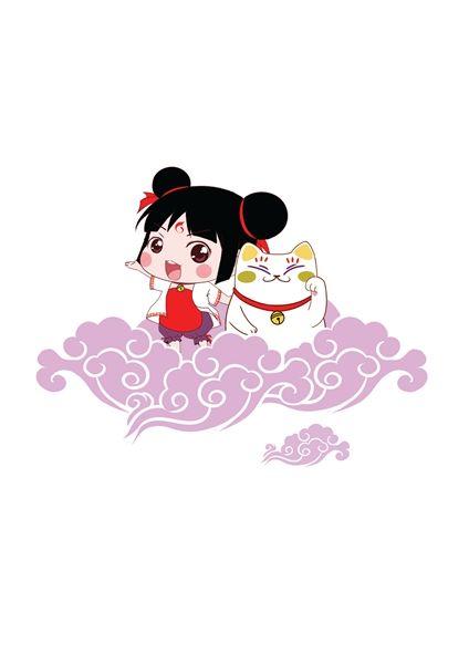 吉祥物通常是用形象可爱的人物或拟人化的形象