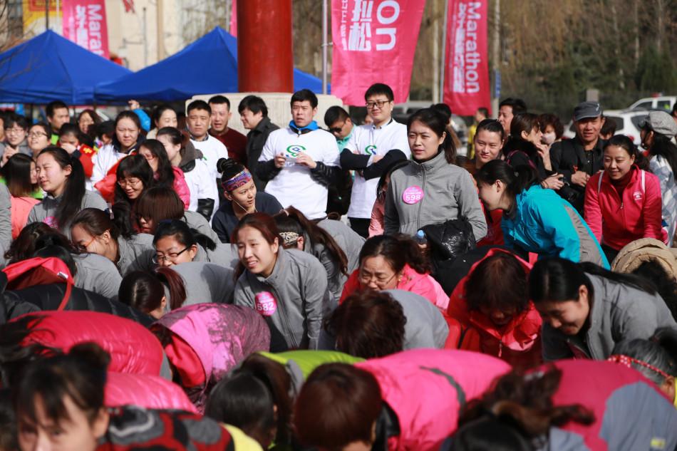 河北首届女子马拉松