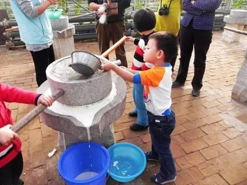 磨豆腐,体验传统手工艺