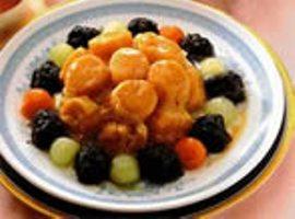 干贝熘黄菜