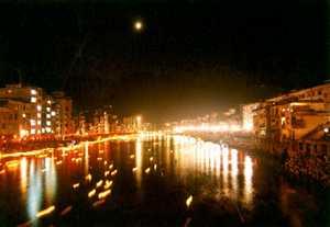 资源河灯歌节