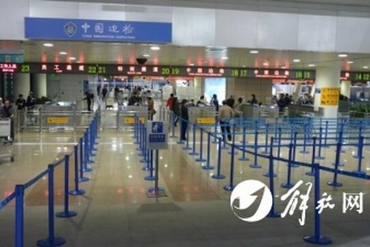 上海浦东机场T1航站楼北区联检大厅正式启用