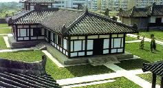 朱然家族墓地博物馆(图)