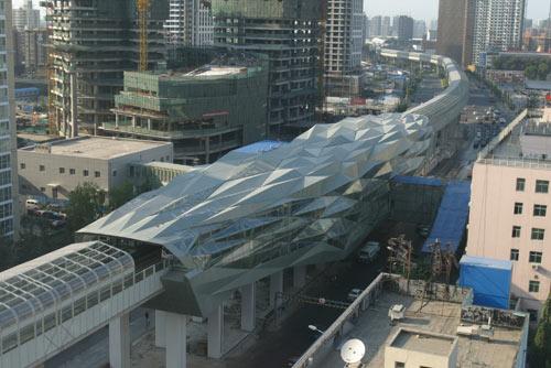北京地铁五号线的故事:北苑路北站(图)
