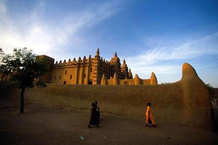 图文:世界十大最美历史遗迹(2) 杰内古城