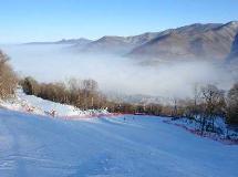 北大湖滑雪