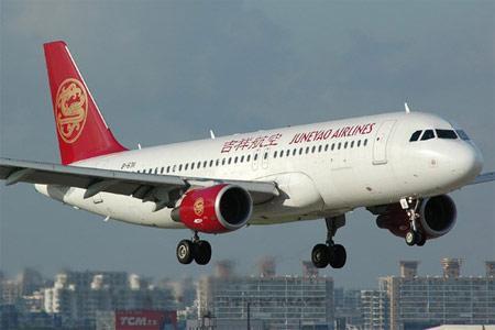 刚起飞的空中客车A320