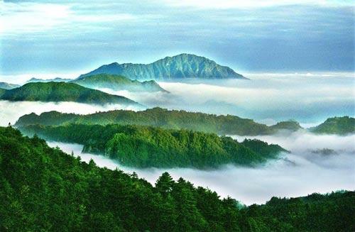 井冈山远景