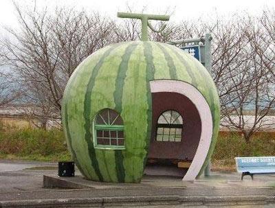 日本的西瓜车站