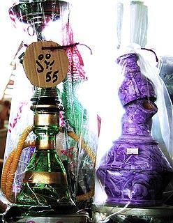埃及的香料非常有名,就连包装也形态各异别具风格。
