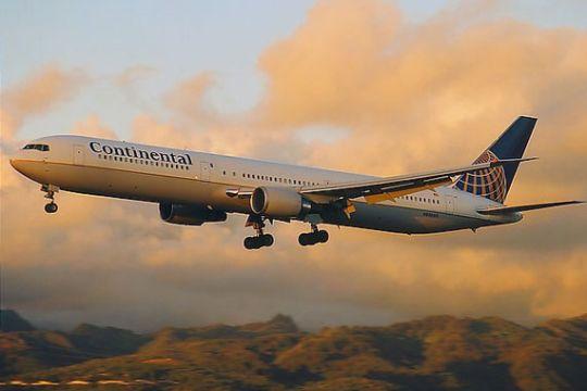 美国大陆航空公司波音767客机