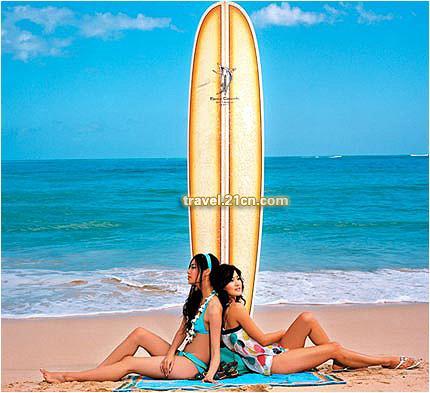 海滩 我都以不同的方式体会着它带给美国人的激情