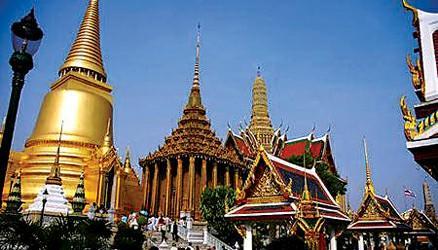 泰国宫殿很辉煌