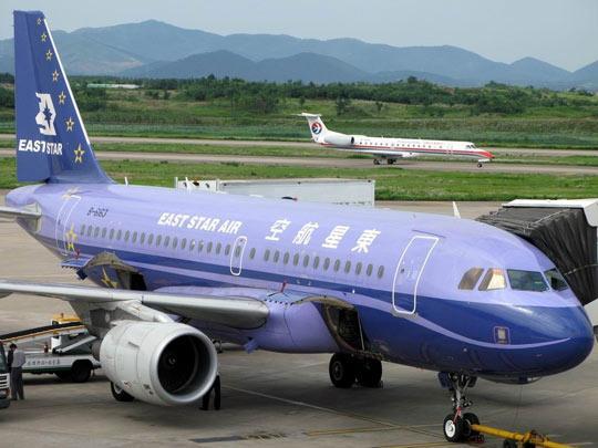 东星航空客机停机检查