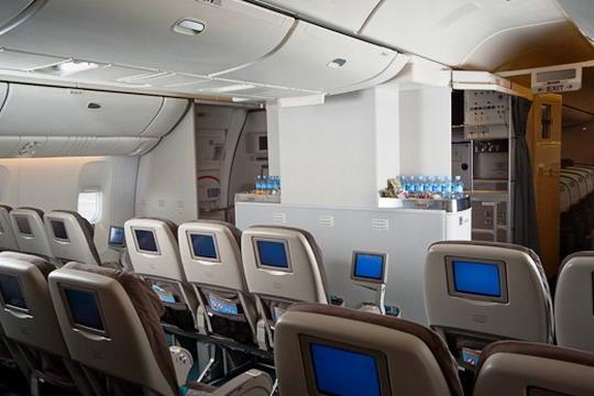 """新西兰航空波音777-200ER""""升级版""""太平洋豪华经济舱"""