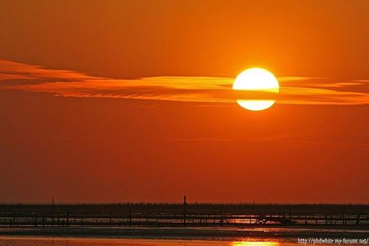 西海岸的夕阳
