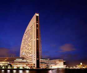 横滨洲际大酒店外观