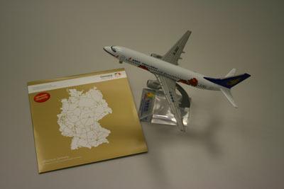 海航航空飞机模型