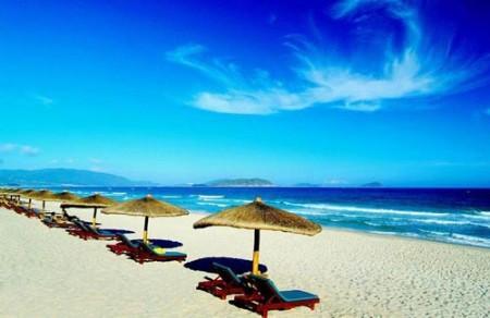 迷人的沙滩